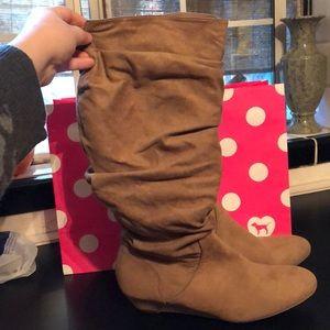 Shoe Dazzle Knee High Boots